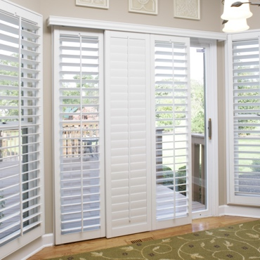 Salt Lake City Sliding Patio Door Shutters