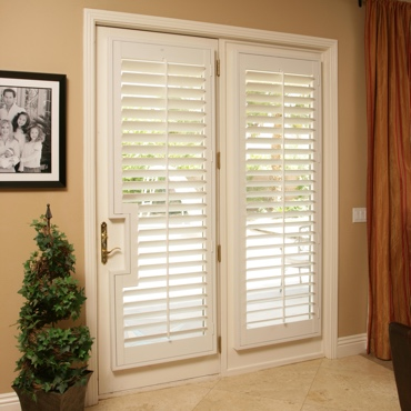 Patio French Door Shutters Salt Lake City