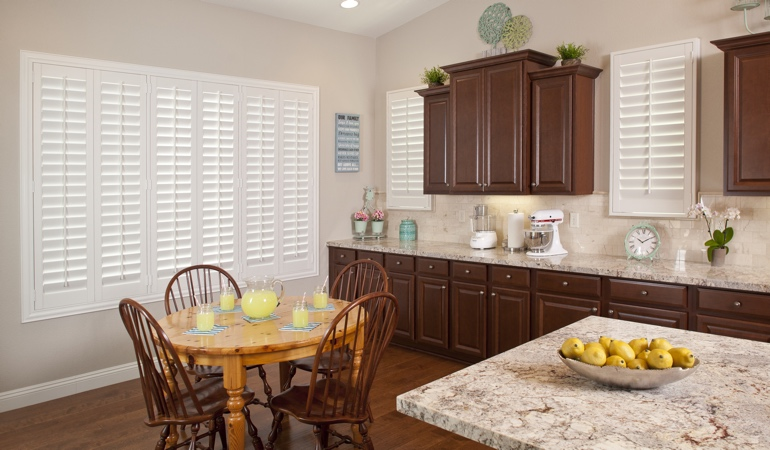 Polywood Shutters in Salt Lake City kitchen