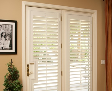 Salt Lake City french door shutters