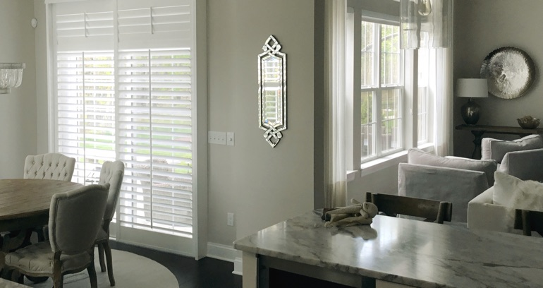 Salt Lake City kitchen sliding door shutters
