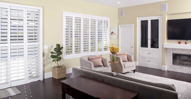 Polywood Plantation Shutters For Salt Lake City, Utah Homes