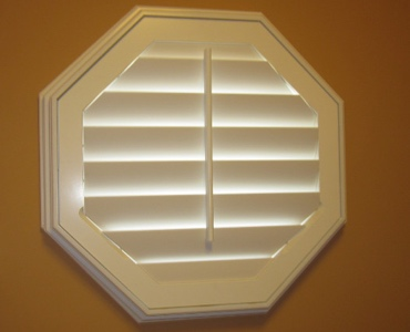 Salt Lake City octagon window shutter