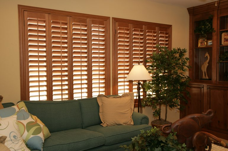 Ovation Shutters In A Salt Lake City Living Room.