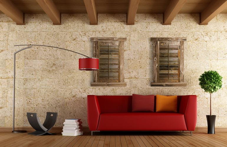 Newest Window Treatment Trends In Salt Lake City: Reclaimed Wood Shutters